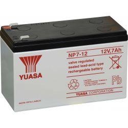 Piombo 12V 7A YUASA batteria