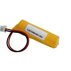 Batteria al litio 7.2 V 1200mah