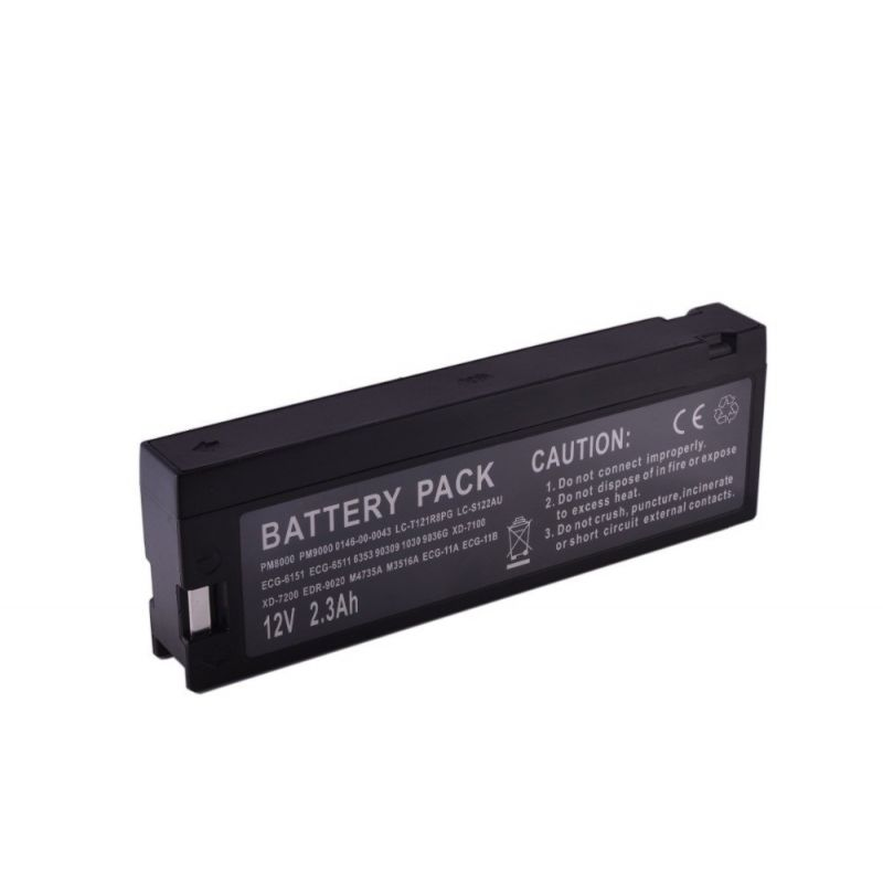 Batería plomo médica 12v 2.3Ah