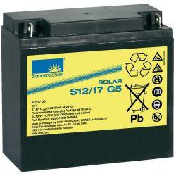 Batteria 12V 17Ah Sonnenschein