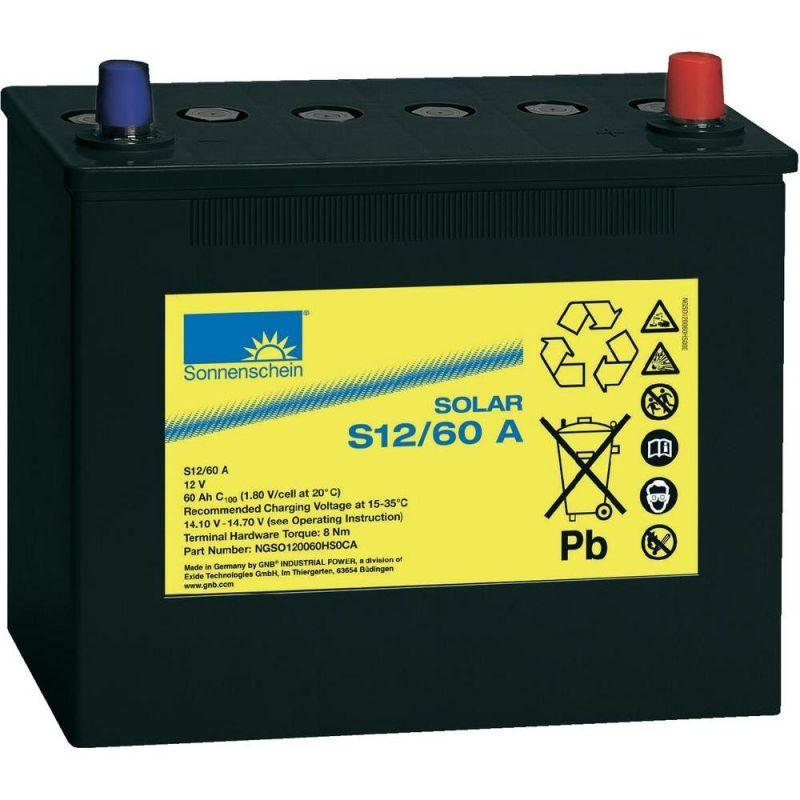 Batterie Sonnenschein 12V 60Ah