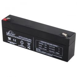 Batteria al piombo ricaricabile 12V 2,3Ah