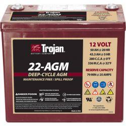 Batteria Trojan 22-AGM