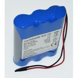 Pack Baterías Litio 18650 3.7V 7800mAh