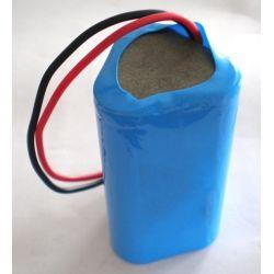 Pacco Batterie al Litio 18650 3.7 V 7800mAh Triangolare