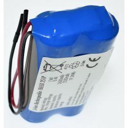 Pacco Batterie al Litio 18650 Batteria 7.4 V 2600mAh
