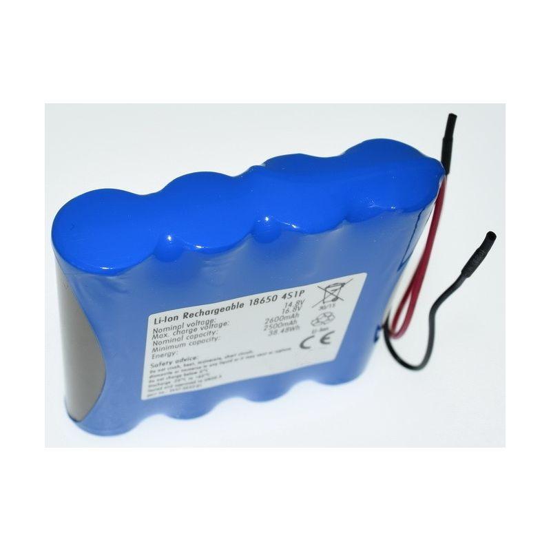 Pacco Batterie al Litio 18650 14.8 V 2600mAh Linea