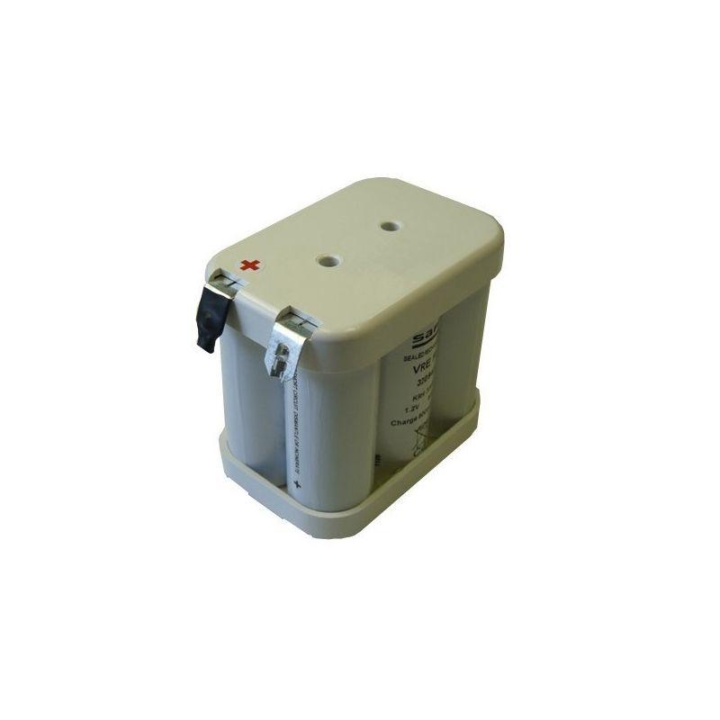 Batteria 6V 7000mah flasco