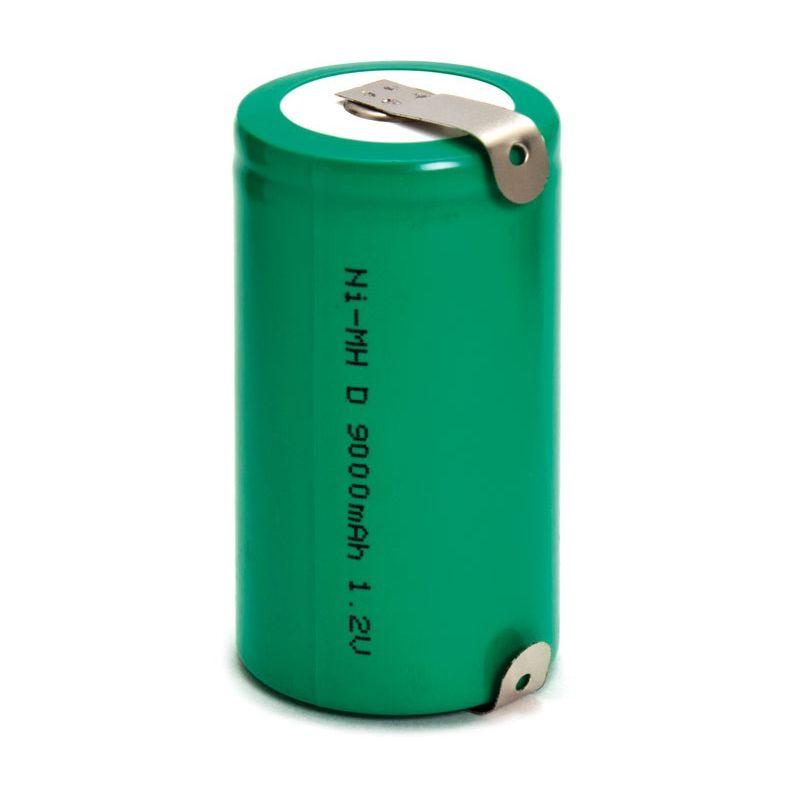 Batteria 1,2V 9000mah (D)