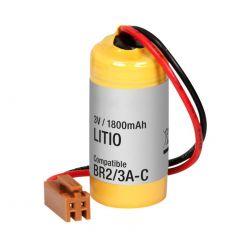 Pila Litio 3V 1800mAh conector