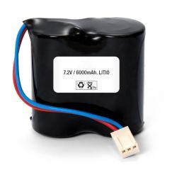 Batterie 7,2 V und 6000mAh