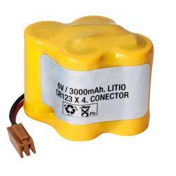 Batteria al litio 6V 3600mAh