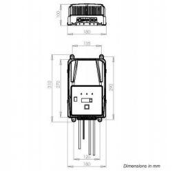 Cargador baterias de GEL, AGM y Acido CBHF2-XP