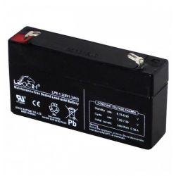 Batería de plomo 6V 1.3A
