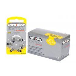 Pack 60 Pilas audifono Rayovac 10
