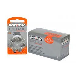 Pilas audifono Rayovac 13 (Pack 60 pilas)