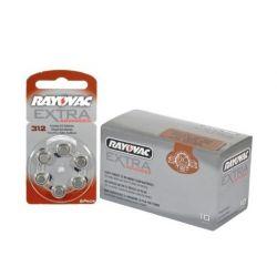 Pack 60 Pilas Rayovac 312