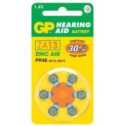 Pilas audífonos GP Mod.ZA13 (Pack 60 pilas)