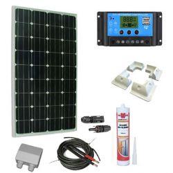 Solar KIt 100W caravaning nach Maß