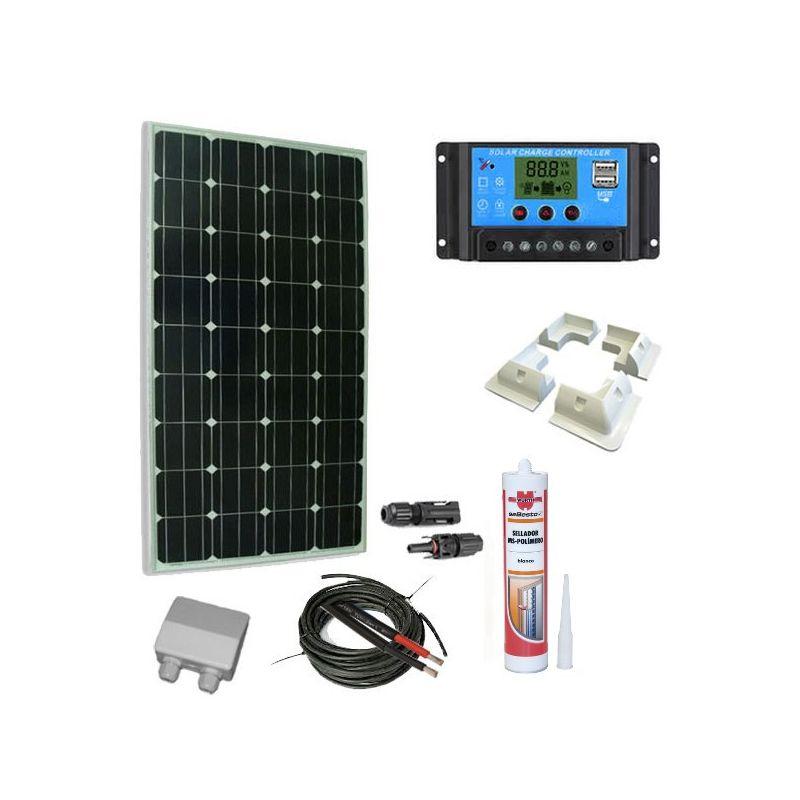 KIt solare 100W caravaning Come