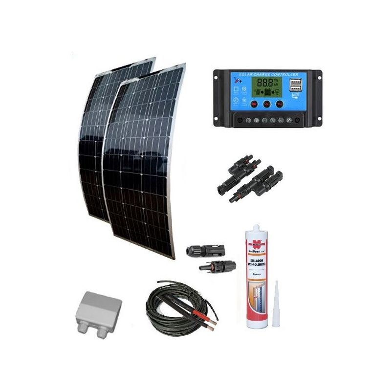KIt solar 300W  caravaning a Medida