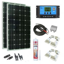 Kit solar 300W configurable a medida.