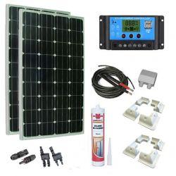 Kit solare 300W personalizzabile.