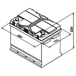Batteria Varta E23 70Ah
