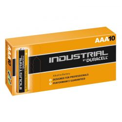 Pilas Duracell Industrial LR03 AAA 1,5V Caja 10
