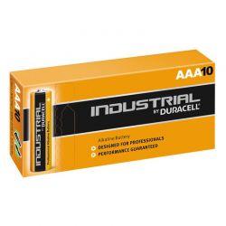 Pilas Duracell Industrial LR03 AAA 1,5V Caja 10