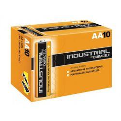 Pilas Duracell Industrial LR6 AA 1,5V Caja 10