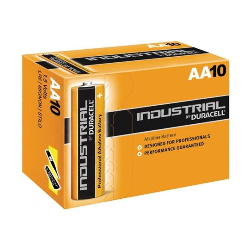 Duracell batterie Industriali LR6 AA 1,5 V, confezione da 10