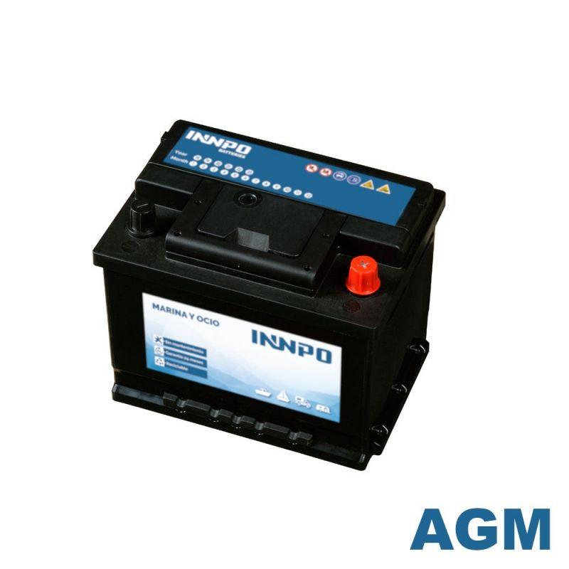 Batería INNPO AGM 60Ah Marina
