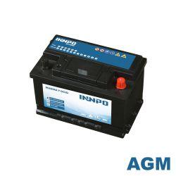 Schiffsbatterie INNPO AGM 70Ah