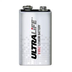 Pila Litio Ultralife 9V