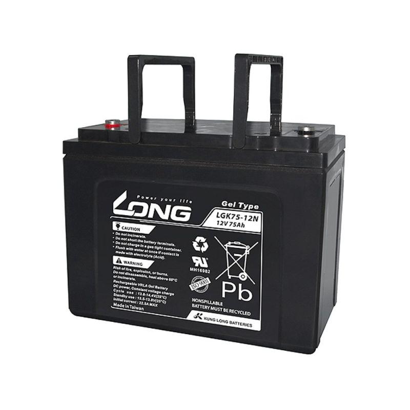 Batería GEL LONG 12V 75Ah