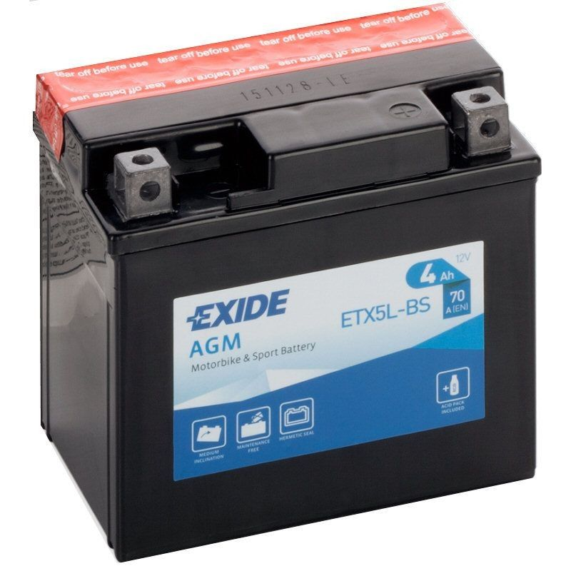 Exide AGM ETX5L-BS