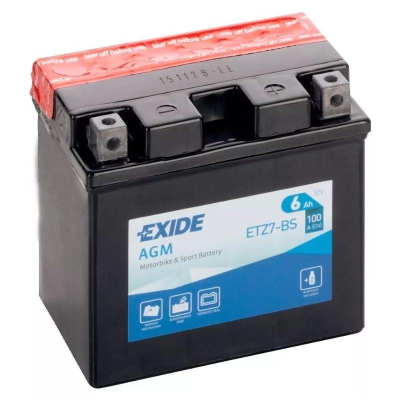 Exide AGM ETZ7-BS