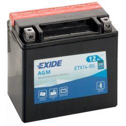 Exide AGM ETX14-BS