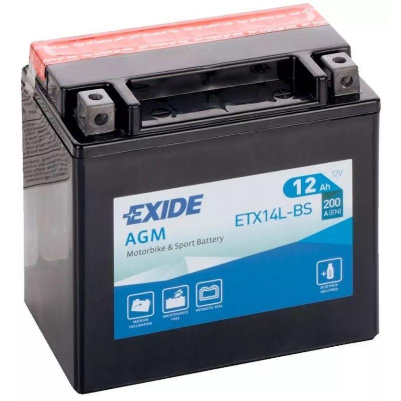 Exide AGM ETX14L-BS