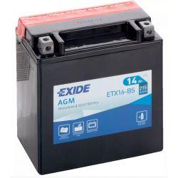 Exide AGM ETX16-BS
