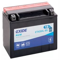 Exide AGM ETX20HL-BS