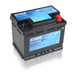 Exide Start Stop AGM EK600