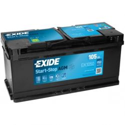 Exide Start Stop AGM EK1050