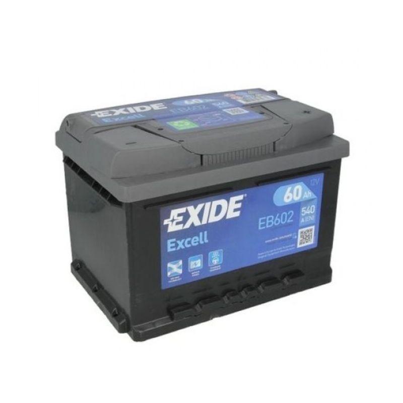 Batería Exide Excell EB602