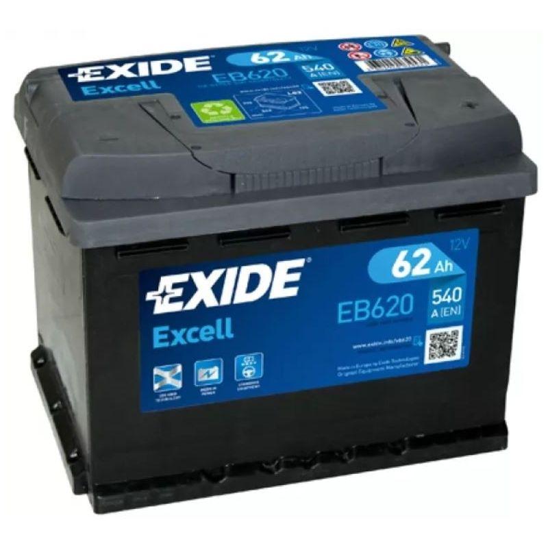 Batería Exide Excell EB620