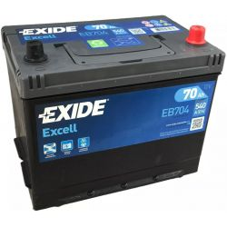 Batería Exide Excell EB704