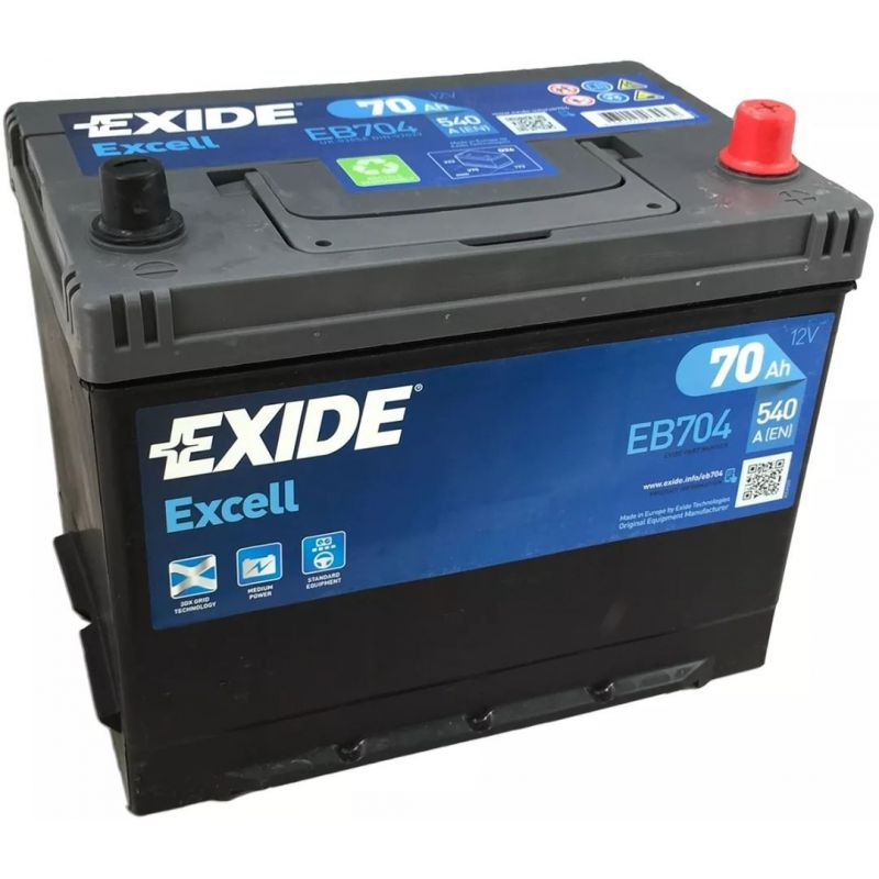 Batteria Exide Excell EB704