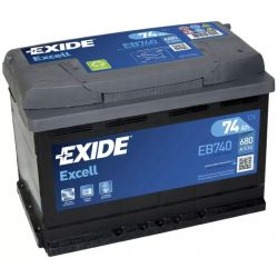 Batterie Exide Excell EB740