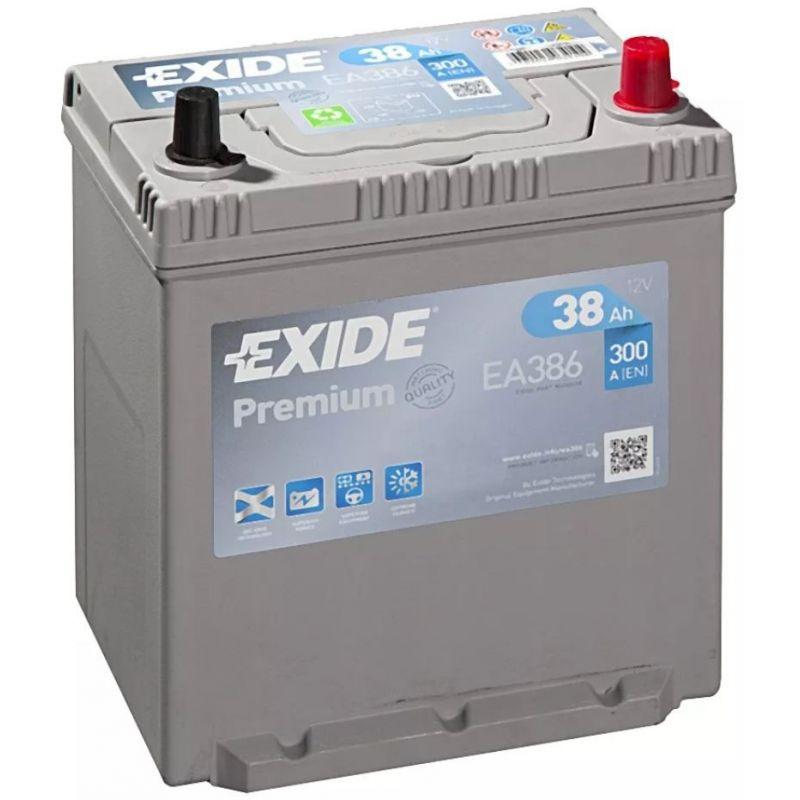 Batería Exide Premium EA386